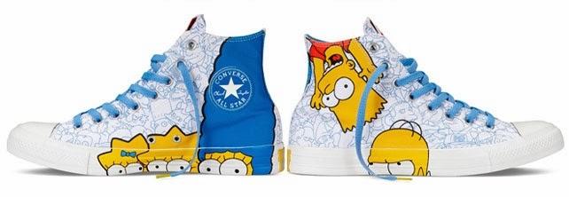 bd3955c9c4e1 Simpsons x Converse Chuck Taylor All-Star collection - Hello ...