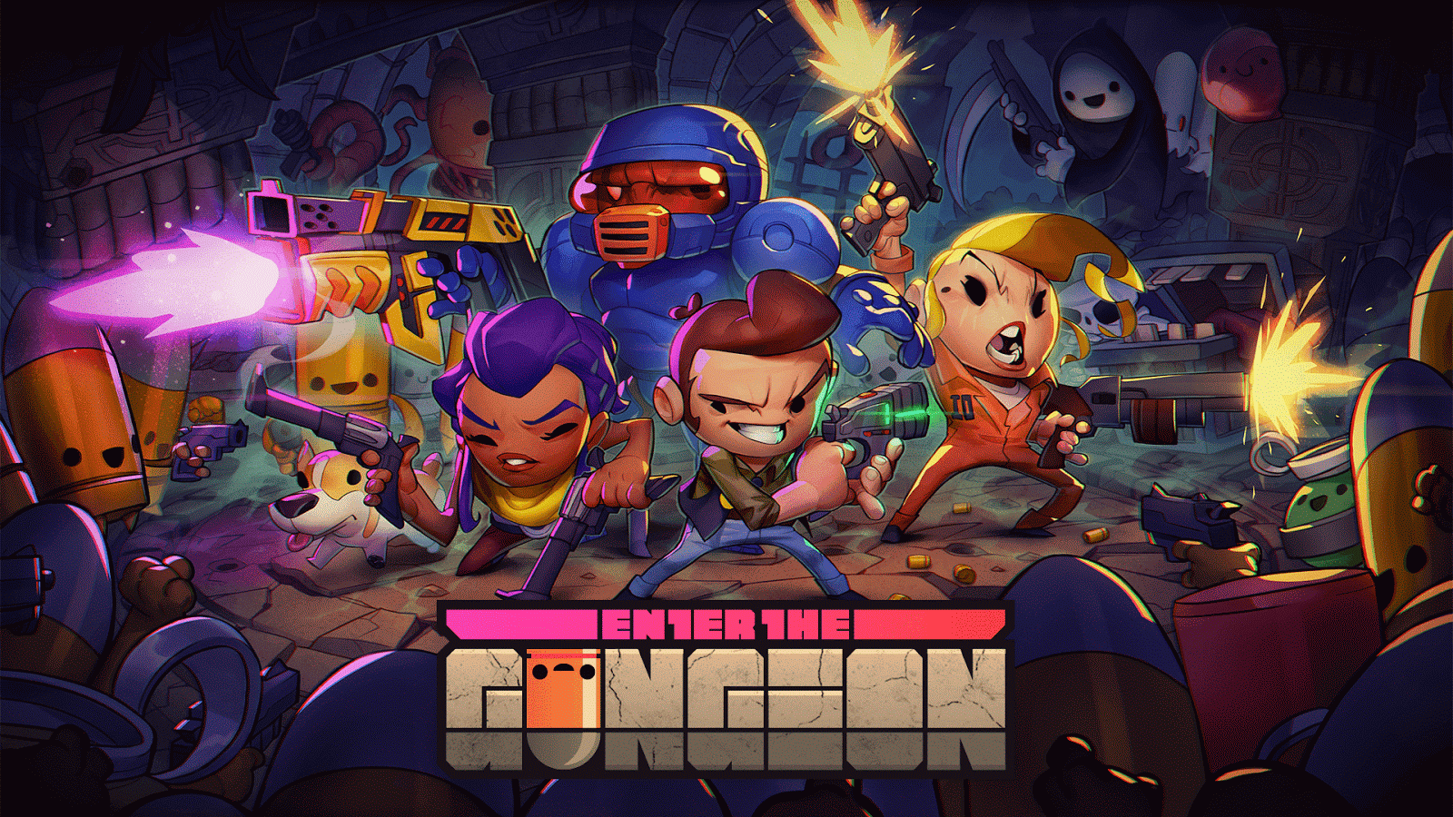 Enter the Gungeon se lanzará en ONE y Windows 10 con cross-buy el 5 de abril