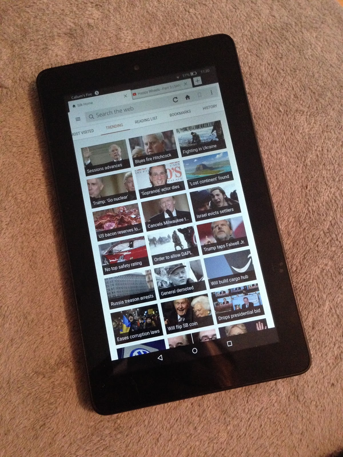 Tech Thoughts: Kindle Fire 5th Generation Mini Review