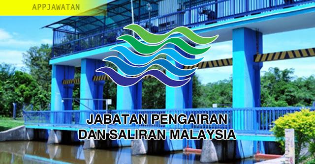 Jawatan Kosong di Jabatan Pengairan dan Saliran Malaysia - 15 Februari 2019