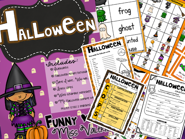 https://www.teacherspayteachers.com/Product/Halloween-Flashcards-Games-Writing-project-2794519