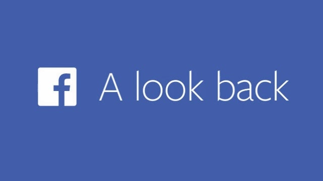 """A Look Back"" de Facebook"