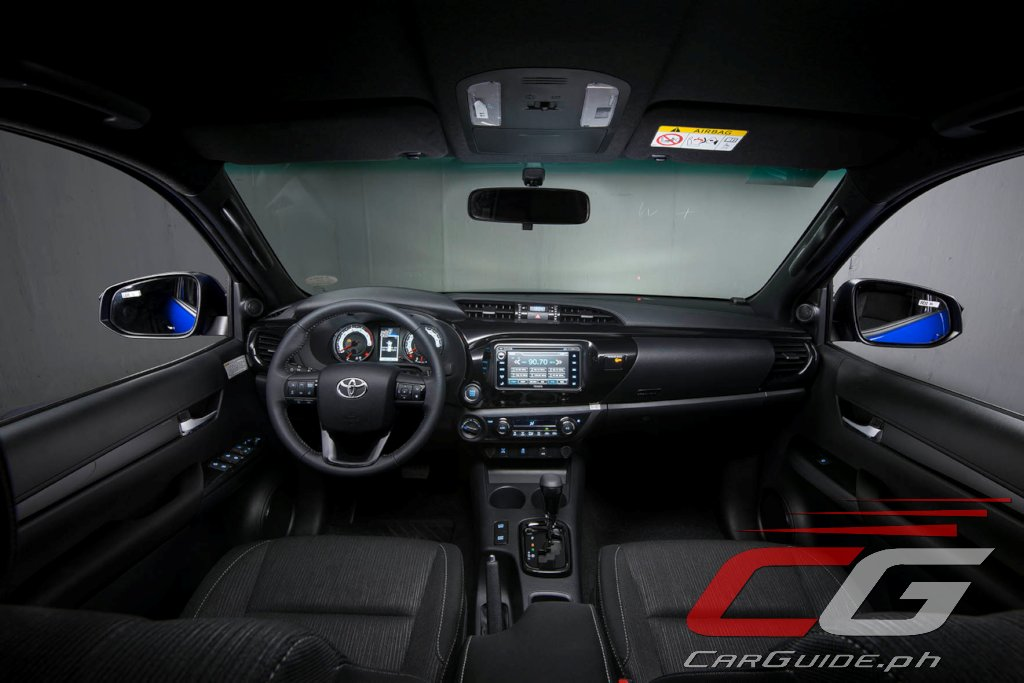 Toyota Philippines Shows Range Topping Hilux Conquest W 14 Photos Specs Philippine Car