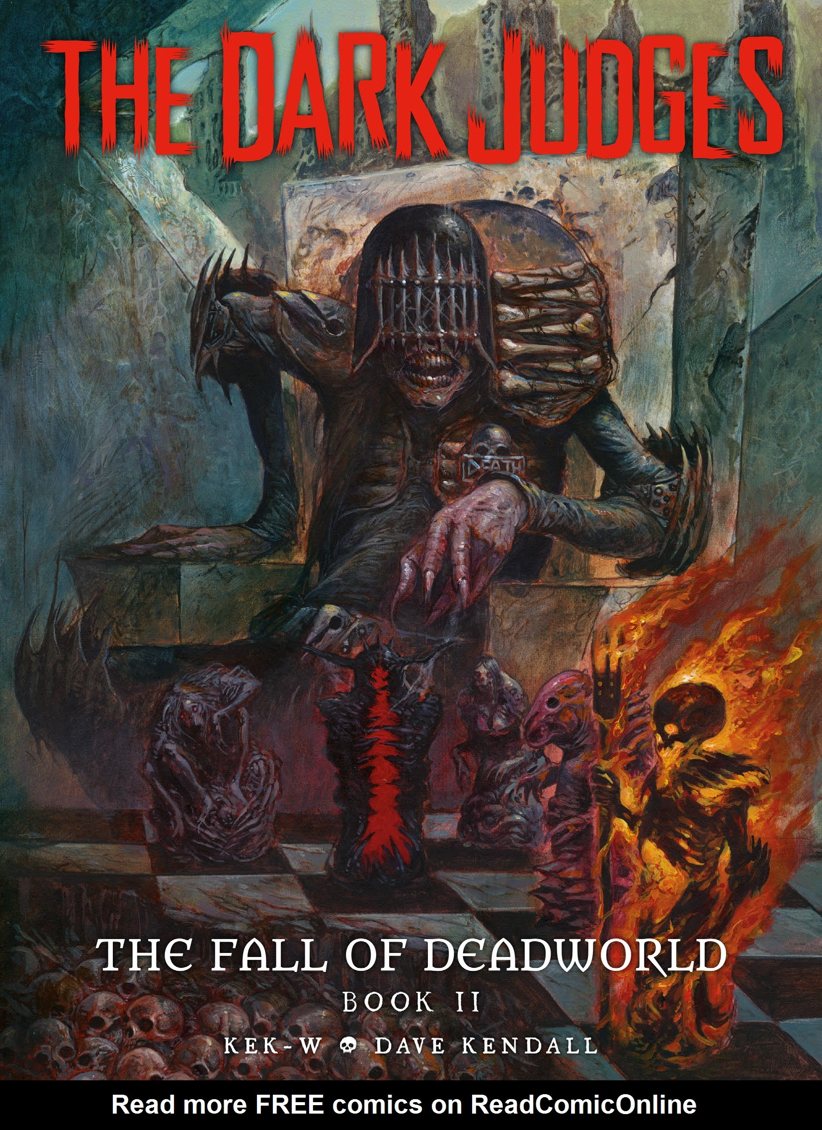 The Dark Judges: The Fall of Deadworld TPB_2 Page 1