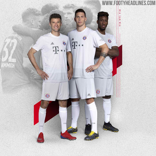 on sale a6a92 0fc9a Bayern München 19-20 Away Kit Released - Footy Headlines