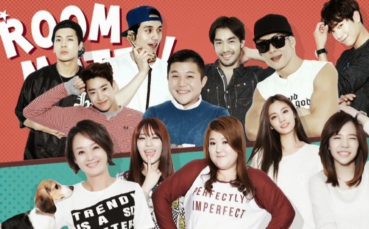 Korean Entertainment: Roommate Season 2 ,Korean Entertainment, Girl's Generation, KARA, Young Ji, GOT7 Jackson, Park Joon Hyung, Lee Guk Ju, Lee Dong Wook, Jo Se Ho, Park Min Woo, Seo Kang Jun, Na Na, Roommate Season 2,