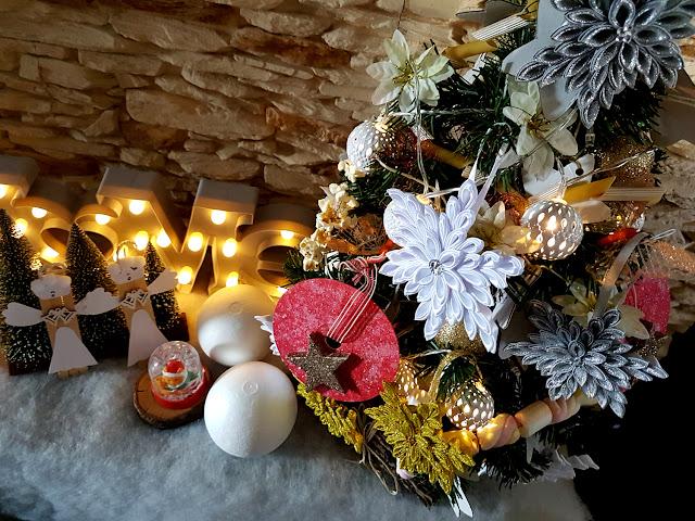 ozdoby świąteczne DIY, Boże Narodzenie, choinka