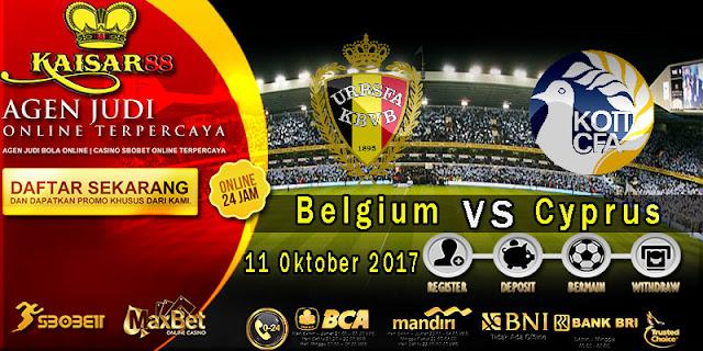 Prediksi bola terpercaya World Cup Belgium Vs Cyprus 11 Oktober 2017