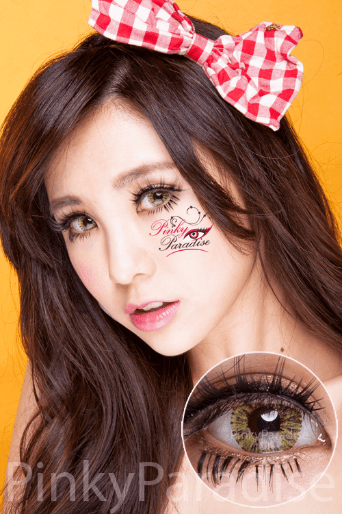 G&G Shimmer Yellow Circle Lenses (Colored Contacts)