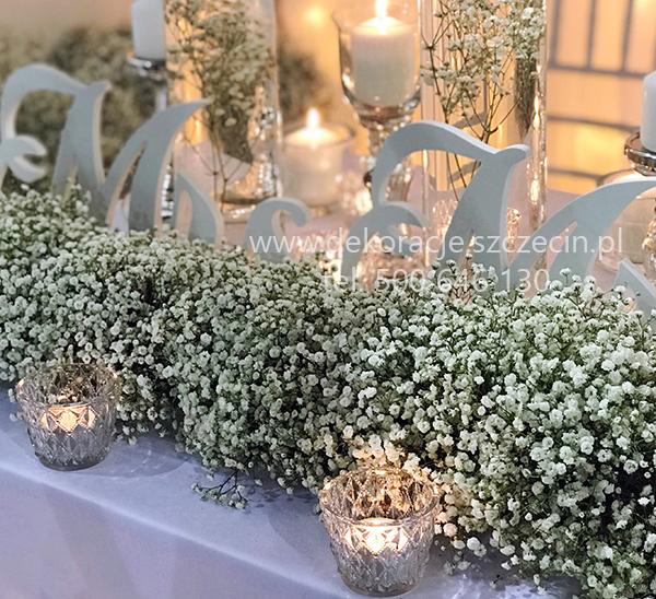 dekoracje ślubne targi wedding arena 2018