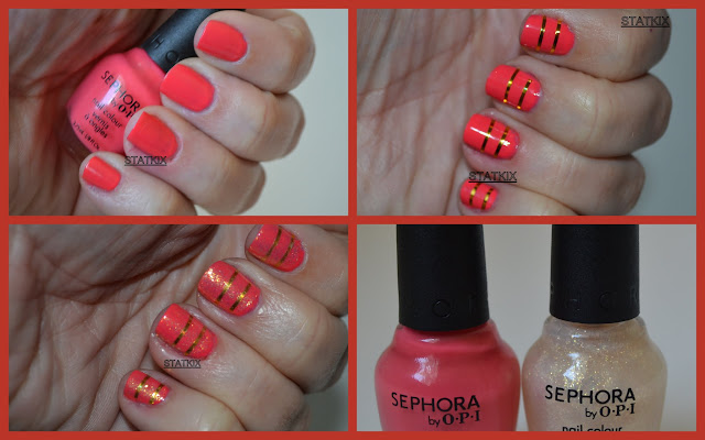 STATKIX - ESMALTE - SEPHORA BY OPI - IM WIRED AND WILD ABOUT YOU