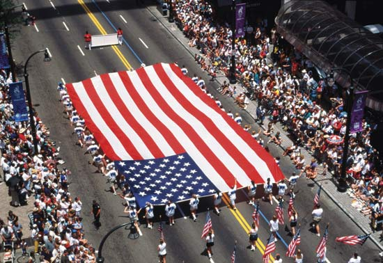 USA Independence day Parades