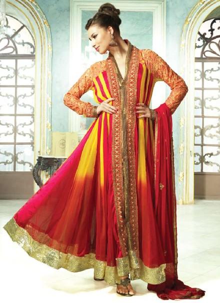 Simple Dress Designs Pakistani