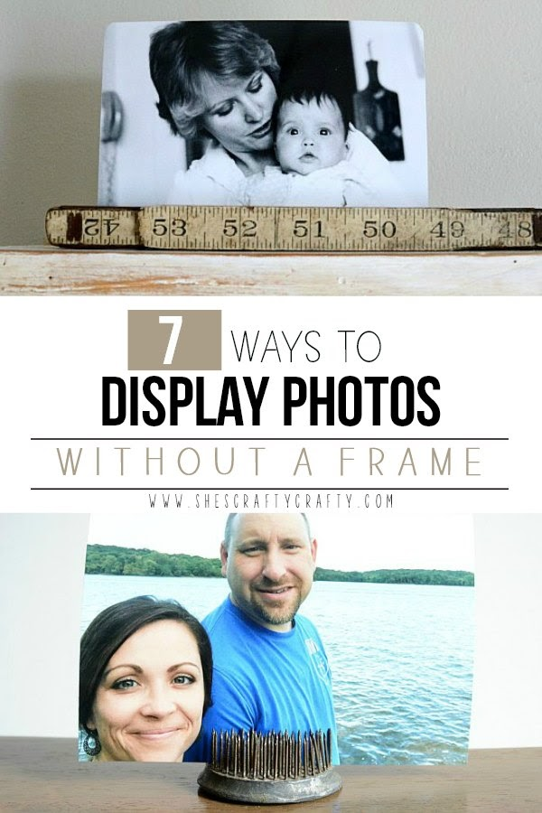 7 ways to display photos without a frame