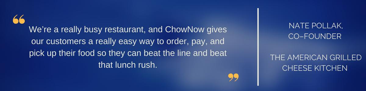 Customer Testimonial example 2
