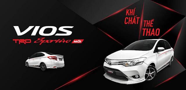 Giá bán chính thức Toyota Vios TRD phiên bản thể thao ảnh 1