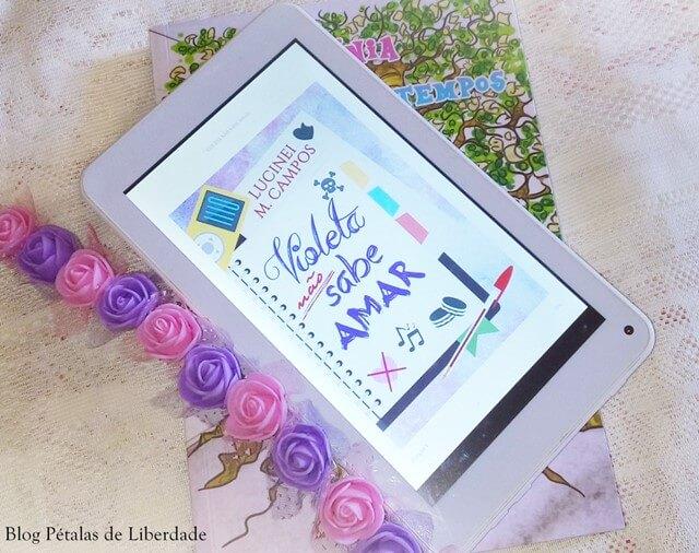 infantojuvenil, ebook, Resenha, quote, livro, Violeta-não-sabe-amar, Lucinei-Campos