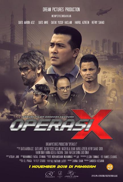 Win! Komen Terbaik Netizen | Trailer Operasi X Movie, Filem Terbaik 2018