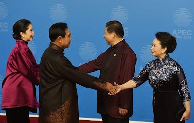 Prayuth Jinping APEC