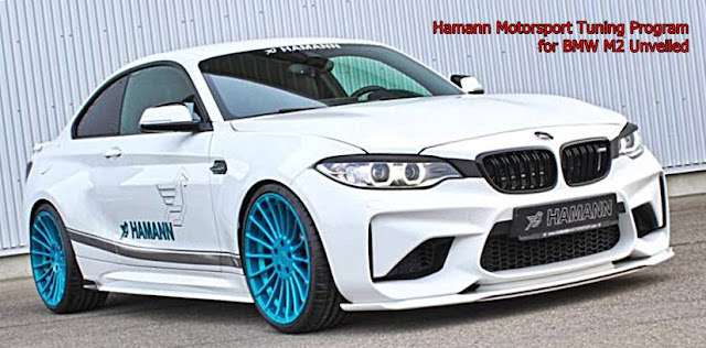 Hamann Motorsport Tuning Program for BMW M2 Unveiled