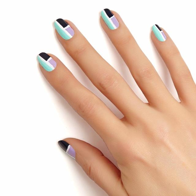 como decorar uñas para niña paso a paso
