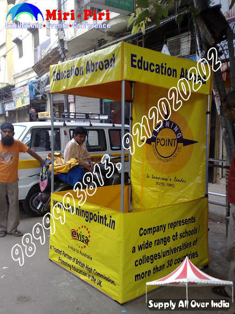 Advertising Canopy 3'x3'x7'ft, Promotional Canopies 4'x4'x7' ft, Marketing Stalls 5'x5'x7 'ft, Advertising Tents 6'x6'x7' ft, Flex Canopy 8'x8'x7'