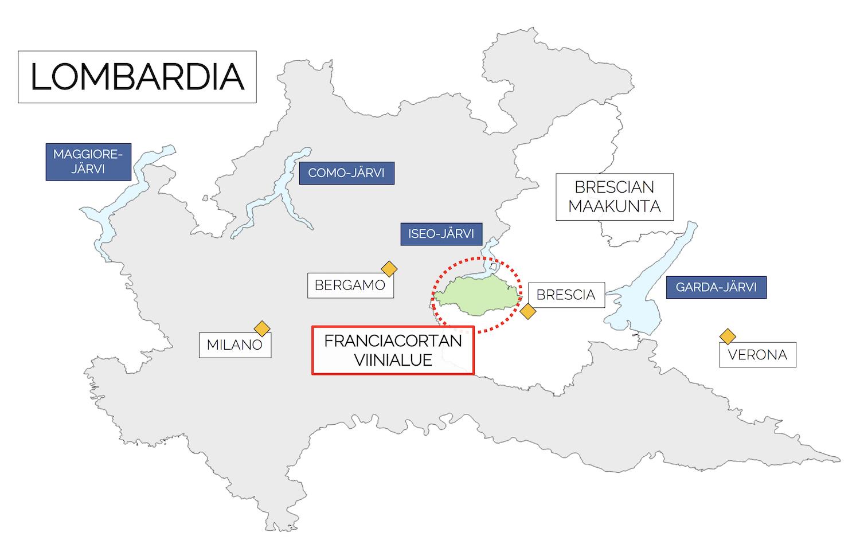 Franciacortan Viinialue Pohjois Italia Raidallisia Retkia