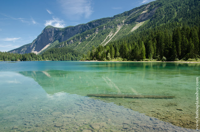 Lago di Tovel Italia paisajes ruta senderismo montaña