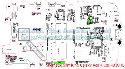 Skematik Samsung Galaxy Ace 4 Lte H316HU