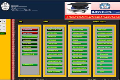 Aplikasi Administrasi Guru Wali Kelas Versi Terbaru