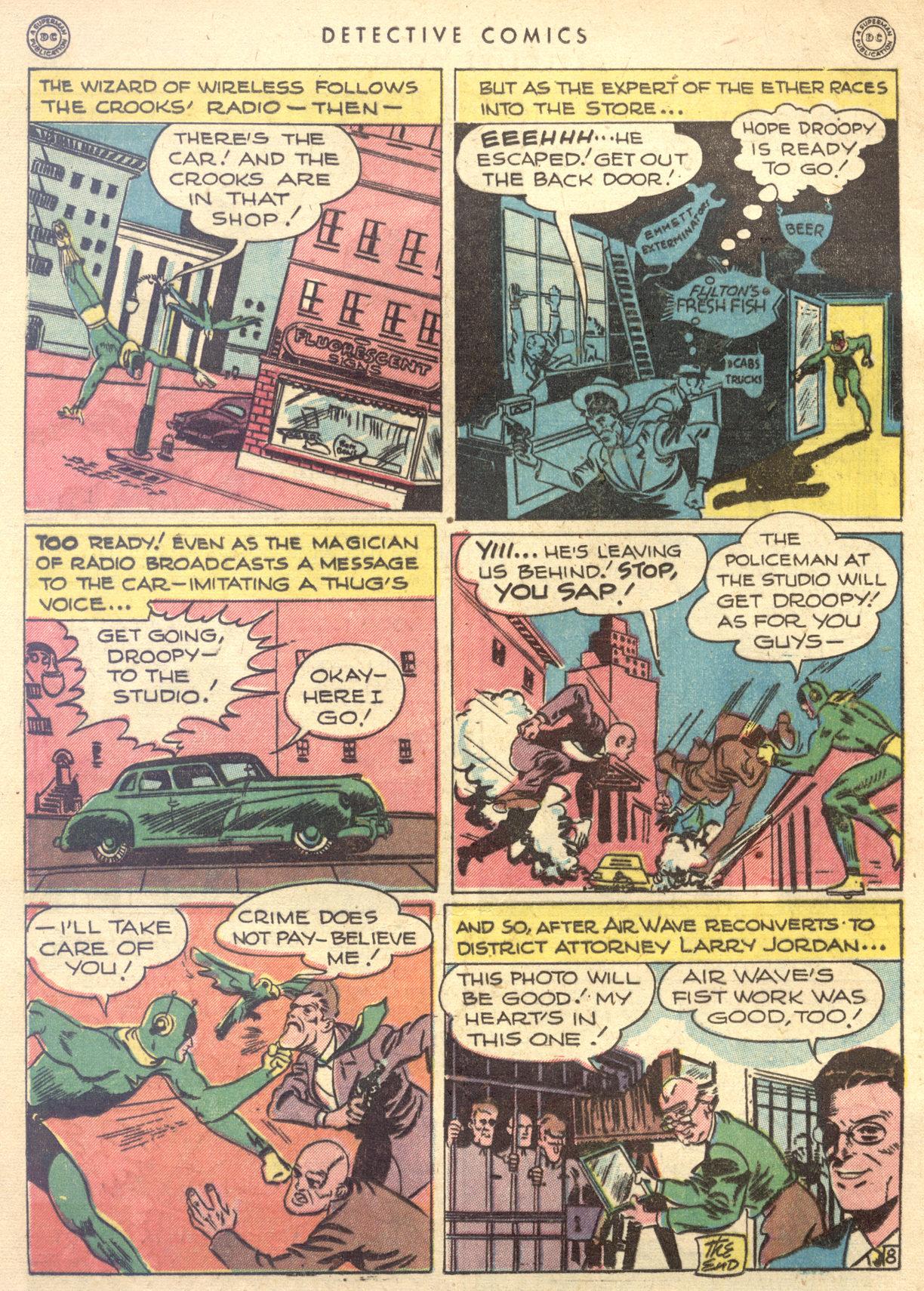 Read online Detective Comics (1937) comic -  Issue #122 - 34