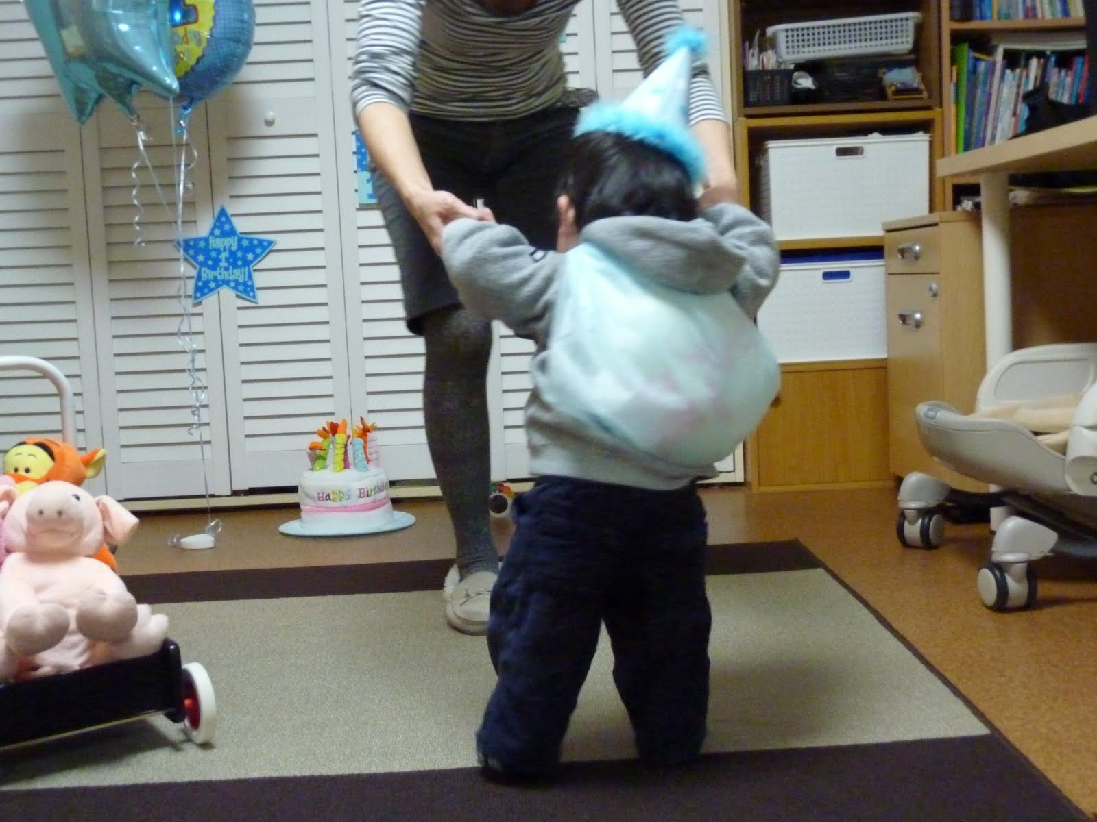 Conrad's English House: First Birthday Customs in Japan