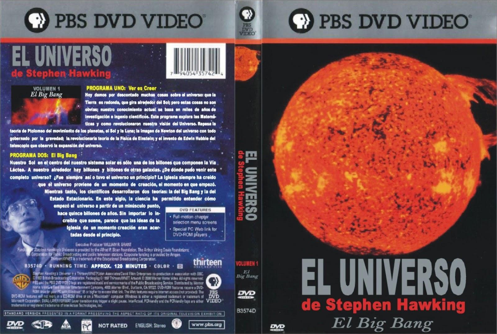 Descolector adulto del universo del dvd