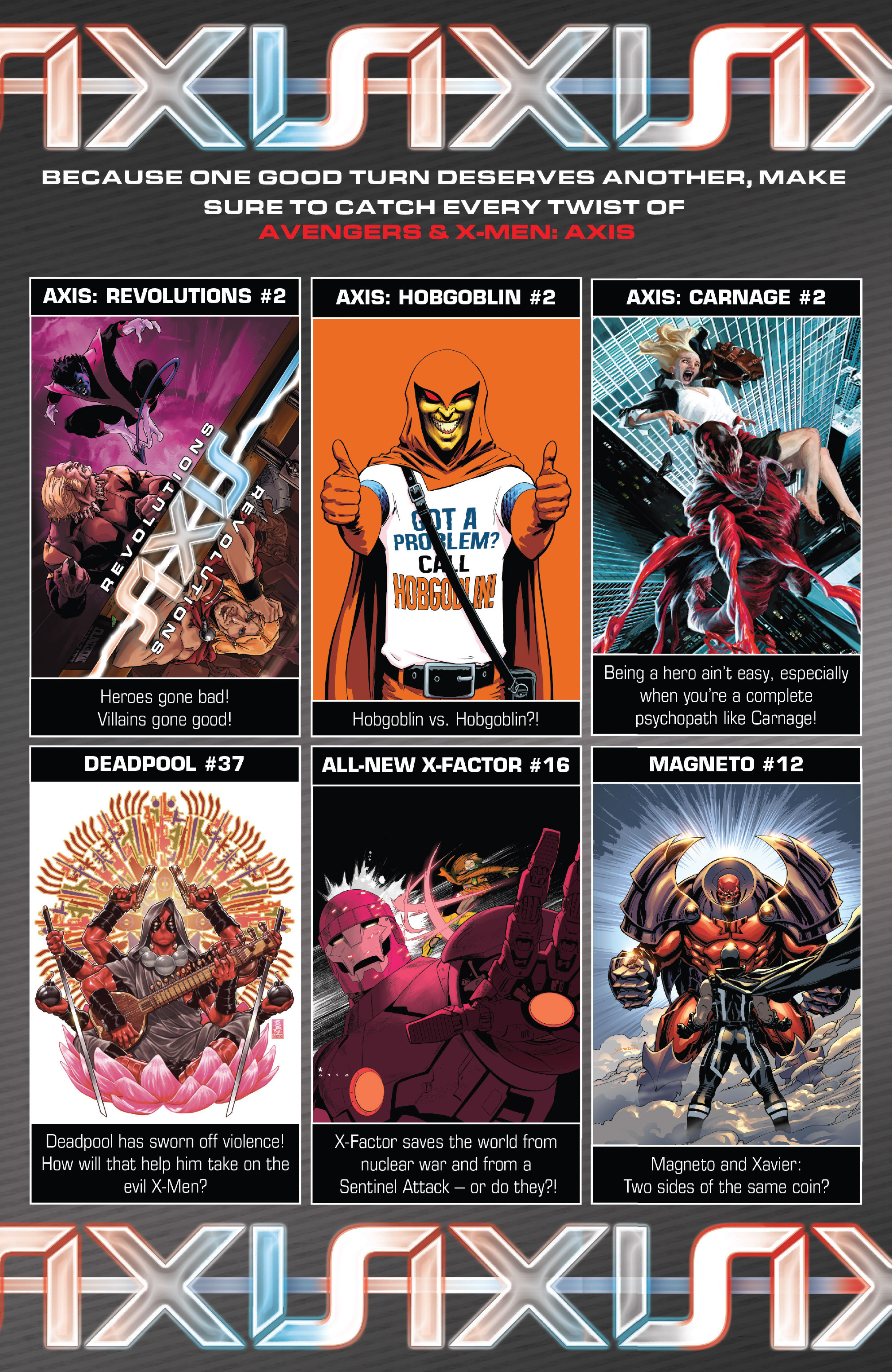 Read online Avengers & X-Men: AXIS comic -  Issue #4 - 26