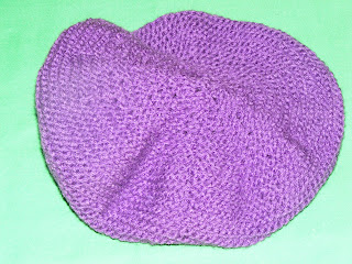 bereta tricotata violet deschis iarna 2011 2012