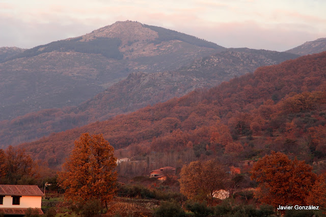 Cáceres. Hervás. Maravillosos colores de otoño. Beautiful colors of autumn.