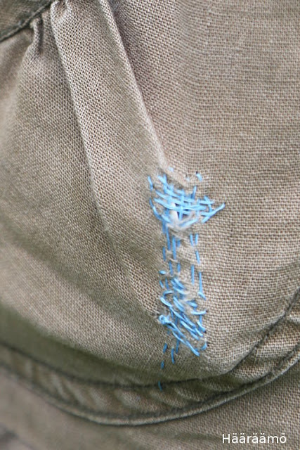Hameen taskun korjaus