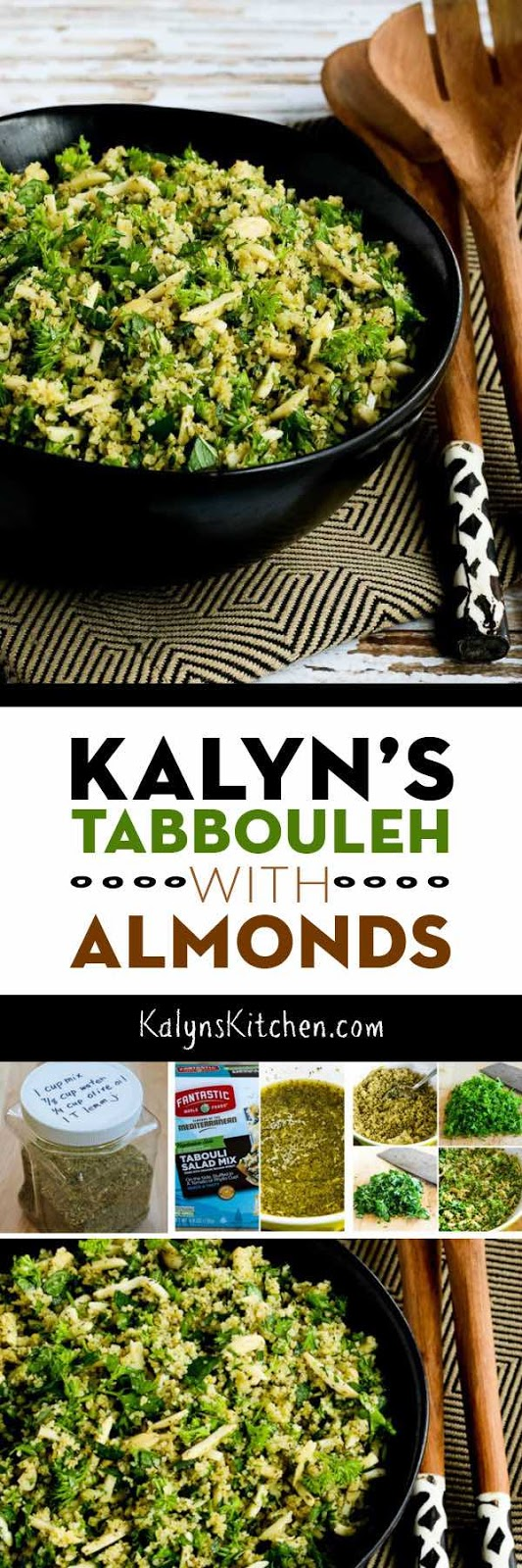 Kalyn's Tabbouleh With Almonds