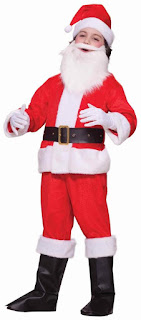 Little Santa Claus Costume