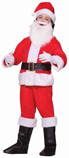 Little Santa Claus Costume