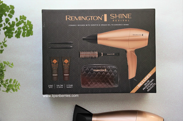 Remington keratin argan oil hair dryer review