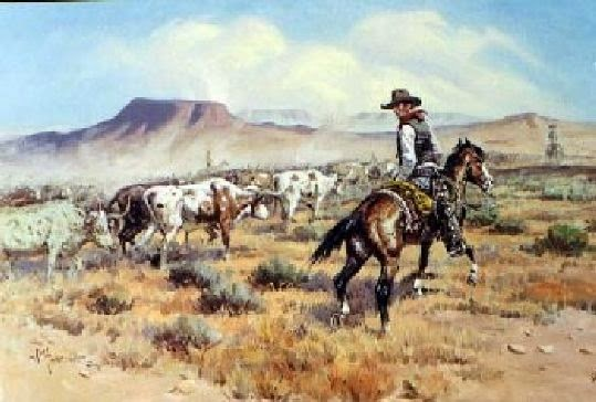 The Old Chisholm Trail http://www.jinglejanglejungle.net/2014/12/cowboy-songs.html