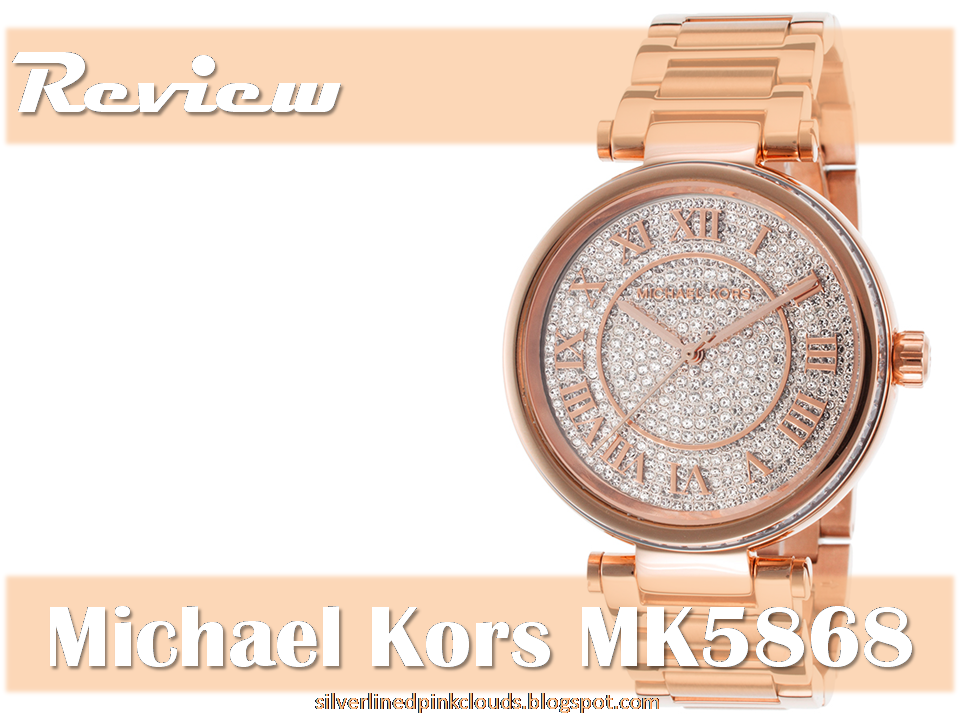 60bc20144c2b Michael Kors MK5868 Skylar Rose Gold Crystal Dial Steel Bracelet Watch