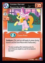 My Little Pony Golden Harvest, Beyond Her Garden Canterlot Nights CCG Card