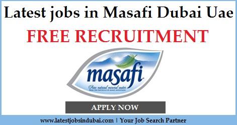 Latest jobs in Masafi Dubai Uae