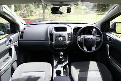 Interior Ford Ranger T6 Prefacelift