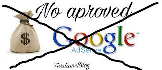 Penyebab Blog Ditolak Adsense