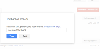 Cara Submit Blog ke Mesin Pencari