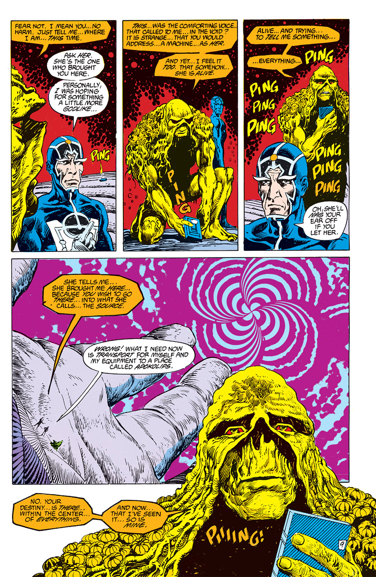 Swamp Thing (1982) Issue #62 #70 - English 9