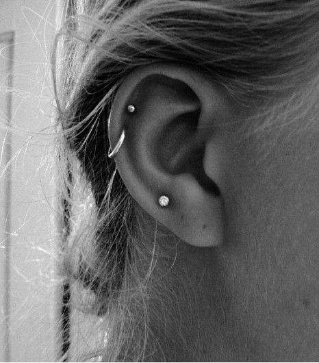 Ear Piercings Idea For Girls